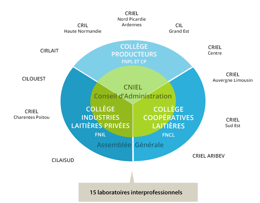 Organisation de l'interprofession