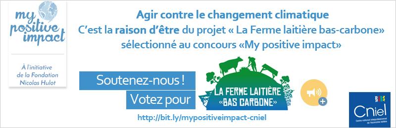 """My Positive Impact - La ferme laitière """"bas carbone"""""""