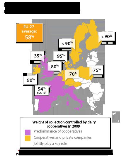 Carte d'Europe de la transformation